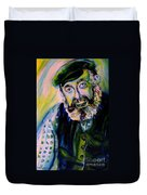 Tevye Fiddler On The Roof Duvet Cover