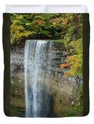 Tews Falls In Autumn Duvet Cover