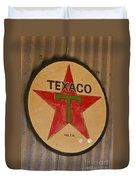 Texaco Star Duvet Cover