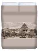 Texas A And M Academic Plaza - College Station Texas Duvet Cover