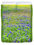 Texas Beauties Duvet Cover