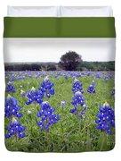 Bluebonnets Duvet Cover