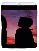 Texas Canyon Sunset Duvet Cover