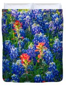 Texas Colors Duvet Cover