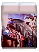 Texas Cowboy Duvet Cover