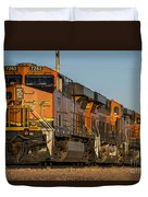 Texas Freight  Duvet Cover