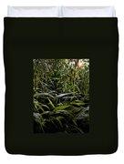 Texas Grasses Duvet Cover