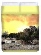 Texas Hill Country Duvet Cover