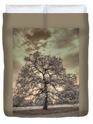 Texas Oak Tree Duvet Cover