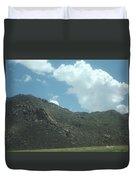 Texas Rock Mountian Duvet Cover