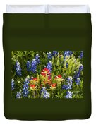 Texas Spring Duvet Cover