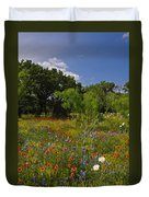 Texas Spring Spectacular Duvet Cover