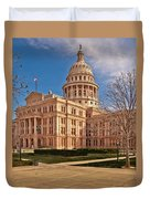 Texas State Capitol Building Duvet Cover