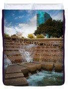 Texas Water Gardens Duvet Cover