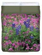Texas Wildflowers 3 - Fs000930 Duvet Cover