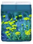 Texas Wildflowers V4 Duvet Cover
