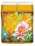 Textured Dahlia Perfection Duvet Cover