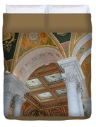 Great Hall Of The Library Of Congress Duvet Cover