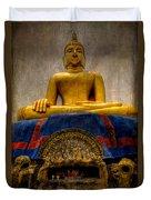 Thai Golden Buddha Duvet Cover