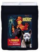 Thai Ridgeback Art Canvas Print - The Enforcer Movie Poster Duvet Cover
