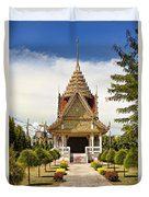 Thailand Temple Duvet Cover