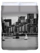 Thames Sailing Duvet Cover