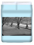 Thames Walkway Duvet Cover