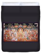 Buddha Art Thangka Duvet Cover