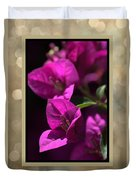 Thank You - Bougainvillea Flowers Duvet Cover