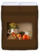 Thanksgiving Still Life Duvet Cover
