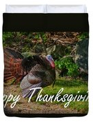 Thanksgiving Turkey Duvet Cover