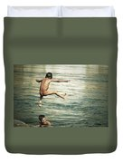 That Was A Great Day Duvet Cover