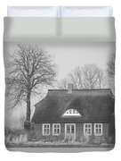 Thatched Roof Duvet Cover