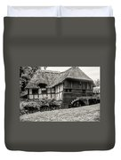 Thatched Watermill 3  Duvet Cover