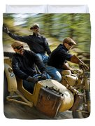 That's The Way To Ride An Army Bmw R75  Duvet Cover