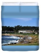 The 18th At Pebble Beach Duvet Cover