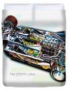 The 1978 F1 Lotus Duvet Cover
