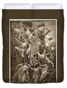 The 5th Division Storming By Escalade Duvet Cover