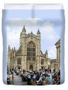 The Abby At Bath Duvet Cover by Mike McGlothlen