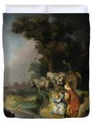 The Abduction Of Europa Duvet Cover