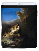 The Abduction Of Proserpina Duvet Cover