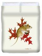 The Acorn Mouse Duvet Cover