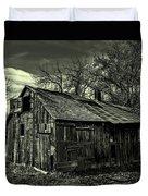 The Adirondack Mountain Region Barn Duvet Cover