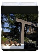 The Adobe Santa Clara California Duvet Cover