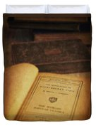The Adventures Of Huckleberry Finn Duvet Cover by Edward Fielding
