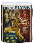 The Adventures Of Robin Hood  Duvet Cover