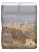 The Alcazar Of Carmona, Andalucia Duvet Cover