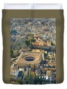 The Alhambra Aerial Duvet Cover
