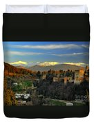 The Alhambra Palace Granada Spain Duvet Cover