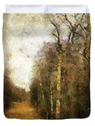 The Allee At Dawn Duvet Cover